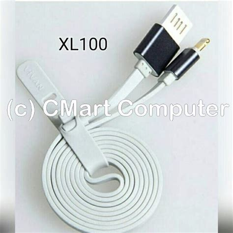 Promo Kabel Data Vivan Iphone 5 5s 6 6s 7 180cm Cl180s 2 Meter Charger jual beli vivan kabel data charger iphone 5 5s 6 6s 1m