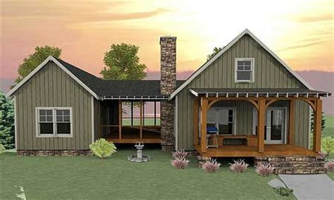small cabin plans with basement small house plans with screened porch small house plans