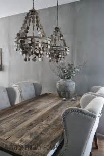 Gray Dining Room Furniture Stunning Dining Room Features Silver Gray Wall Color Alongside A Reclaimed Wood Dining Table