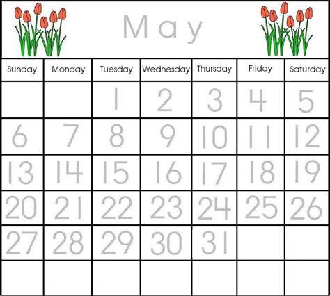 printable calendar resources preschool printable calendar items