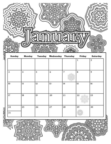 2018 coloring calendar monthly planner books monthly calendar coloring pages rakaku 2018 calendar