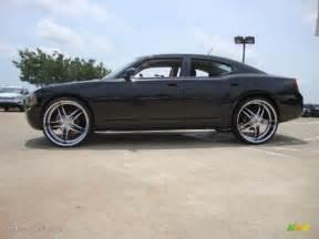 2008 dodge charger sxt awd custom wheels photo 50908843