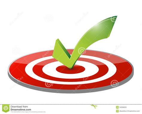 Target Background Check Check Target And Dart Illustration Design Stock