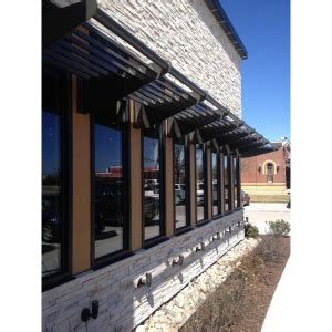 victory awnings louver sunshades commercial metal products victory awning sweets