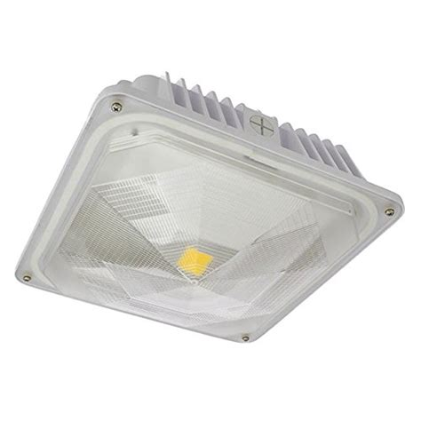 Outdoor Led Ceiling Light Fixtures Ledwholesalers 35 Watt Outdoor Led Canopy Ceiling Light Fixture New Ebay