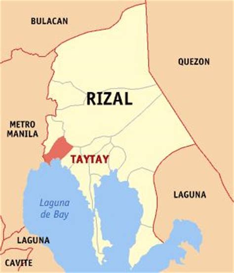 zip code map quezon city philippines taytay