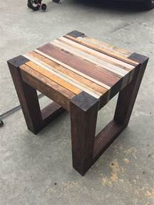 Free Small Wood Table Plans by Scrap Wood Side Table Free Diy Tutorial Rogue Engineer