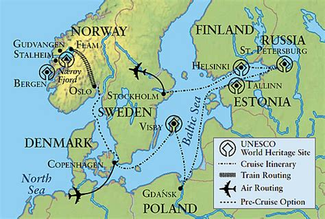 map of baltic sea baltic sea 2016 itinerary map