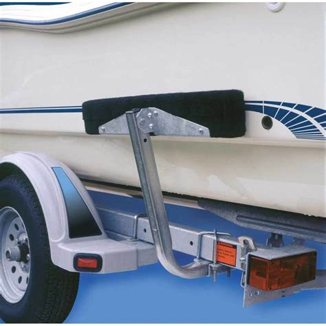 boat trailer guides for large boats c e smith bunk board boat guides west marine