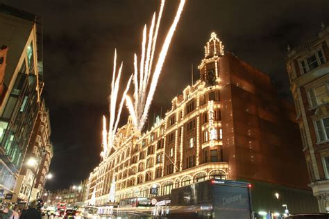 fireworks photos photos harrods christmas lights switch