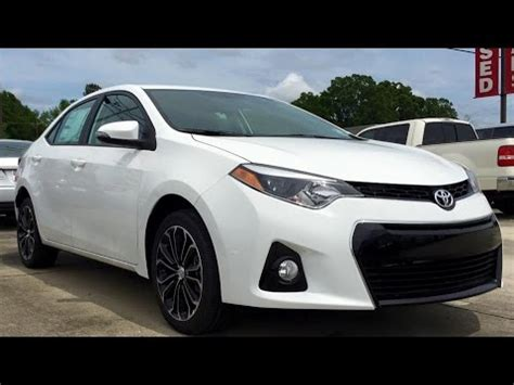 Toyota Corolla Sport Plus 2015 by 2015 Toyota Corolla S Plus Review Start Up Exhaust