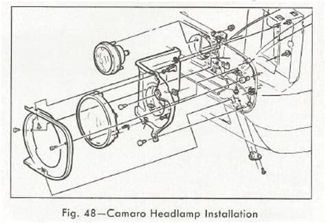 1967 camaro rs headlight wiring diagram get free