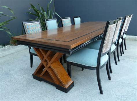tipos de mesas de comedor mesas de comedor modernas de madera maciza 50 ideas