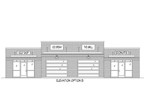 strip mall floor plans strip mall plans commercial building plan offers a strip