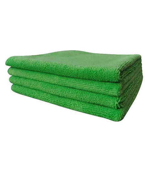softspun green microfiber home kitchen bathroom dusting
