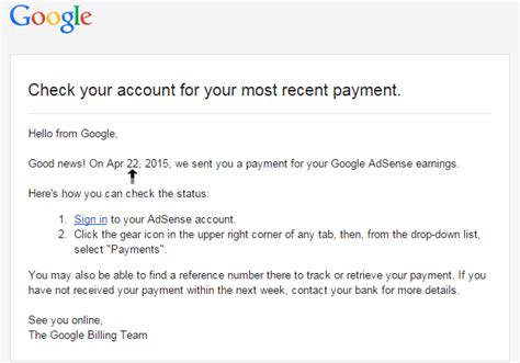 adsense wire transfer time how long it will take time to receive adsense payment