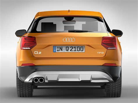 Audi Q2 Ma E by Audi Q2 2017 3d Model Max Obj 3ds Fbx Ma Mb Cgtrader