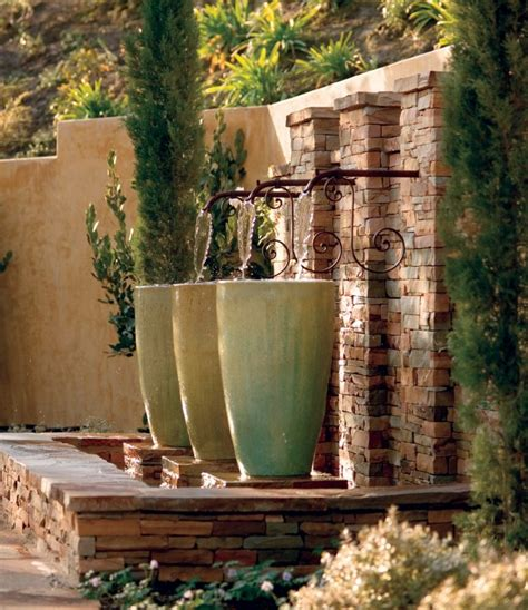 water features and fountains