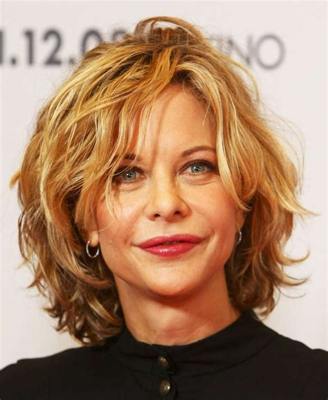 curly hairstyles for middle aged women medium short wavy hairstyles hairstyles for middle aged