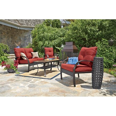 anderson  pc deep seating set  patio collections