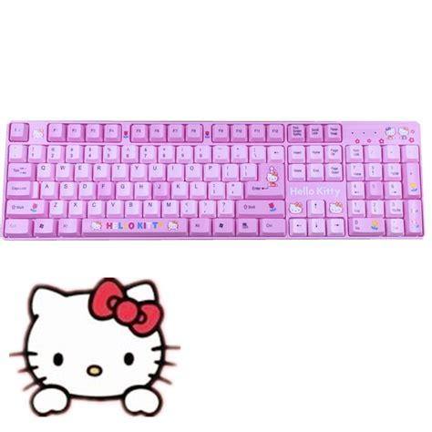 hello kitty keyboard wallpaper hello kitty wired keyboard usb girls pink keyboard cute