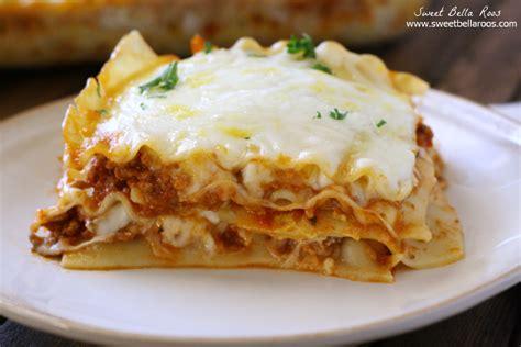 Creamy Lasagna Without Ricotta Cheese Cottage Cheese Ricotta Lasagna