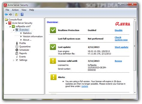 Antivirus Server avira server security