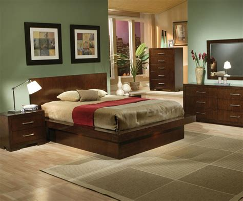 Modern Bedroom Sets Toronto toronto cappuccino platform bedroom set with lights