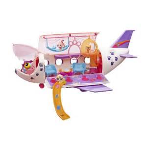 hasbro littlest shop samolot lps i 4 figurki b1242