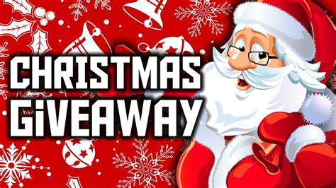 Free Christmas Giveaways - christmas giveaway free custom channel banner youtube
