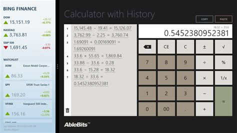 calculator history calculator with history for windows 10
