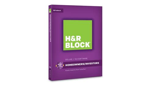 H&R Block Tax Software Deluxe 2016 | Groupon H And R Block 2015 Tax Software Deals