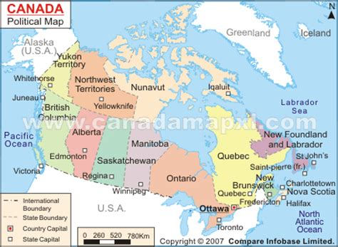 canadian map political section 13 wintery