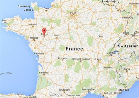 map usa and canada where is angers on map france world easy guides
