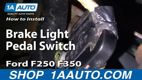 install replace brake light pedal switch ford