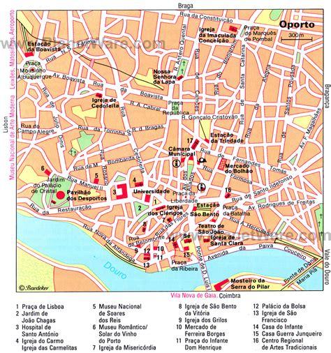 porto map maps update 12001283 porto tourist map 14 toprated