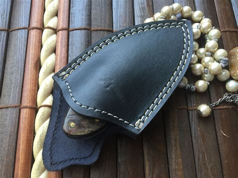custom neck knives for sale custom handmade damascus knife neck knife wnkr