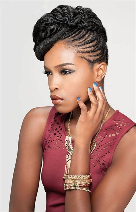 attractive braids for women with square faces best african braids hairstyle you can try now fave