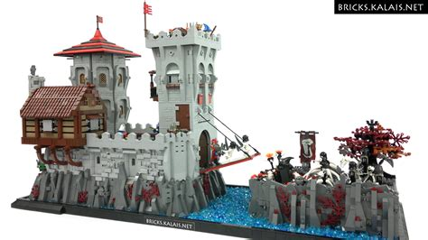Lego Ship Castle moc undead fall is coming to the knights bricks treasure lego 174