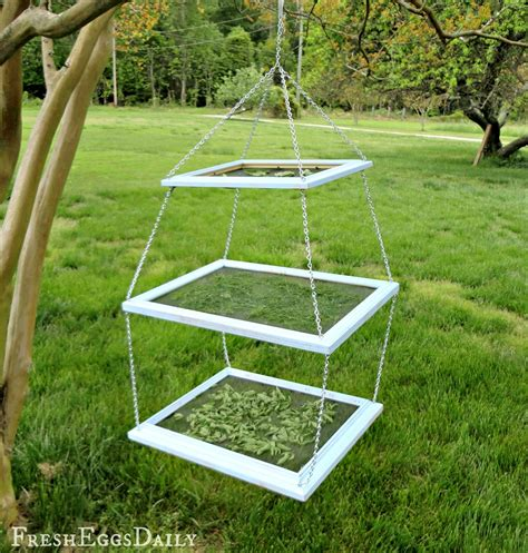 diy spice drying rack diy tiered herb drying rack using repurposed picture
