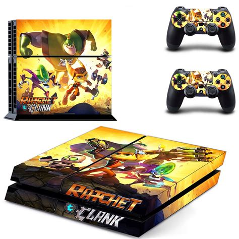 skins all 4 ratchet and clank all 4 one ps4 skin for console and