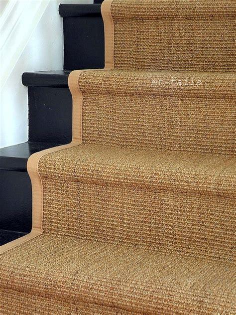 sisal rug runners best 25 black painted stairs ideas on black staircase painted stairs and paint stairs