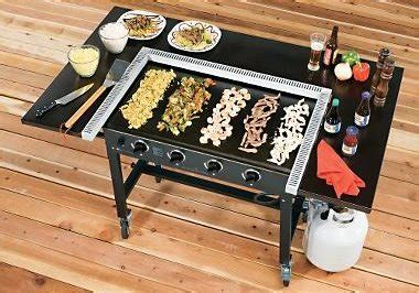 backyard griddle japanese outdoor teppanyaki grills landscaping network