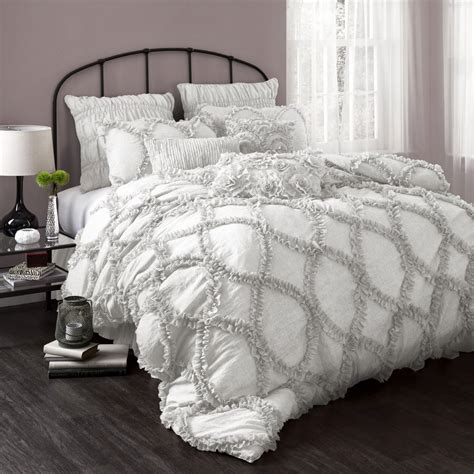 grey and white comforter set queen thrifty and chic diy projects and home decor