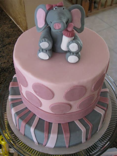 elephant theme cake cakes and cupcakes