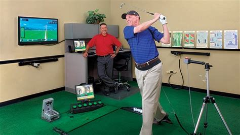 golftec swing analysis golftec s swingtru motion study illustrates big swing