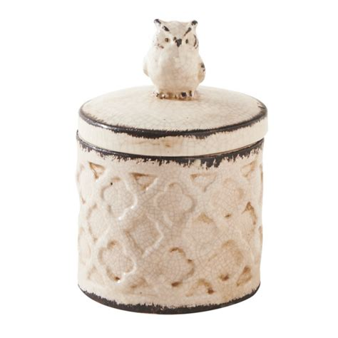 Owl Kitchen Canisters by Owl Kitchen Canister