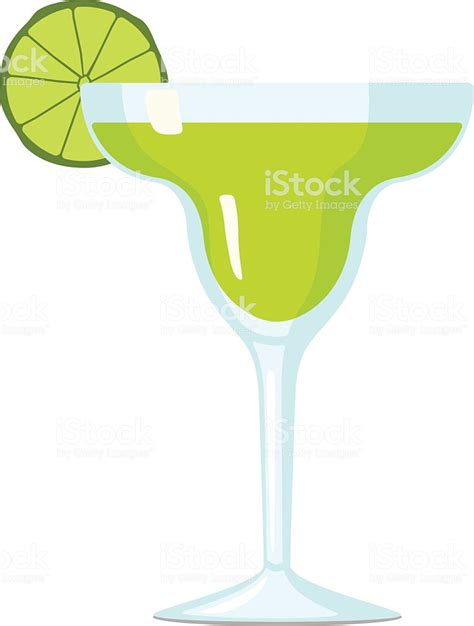margarita drawing margarita cocktail vector illustration stock vector