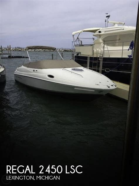 boats for sale in lexington mi canceled regal 2450 lsc boat in lexington mi 114163