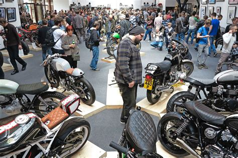 The Bike Shed Show display your triumph at the bike shed show mcn
